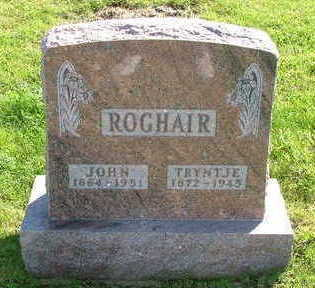 ROGHAIR, TRYNTJE - Sioux County, Iowa | TRYNTJE ROGHAIR