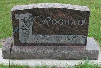 ROGHAIR, JUDSON G. - Sioux County, Iowa | JUDSON G. ROGHAIR