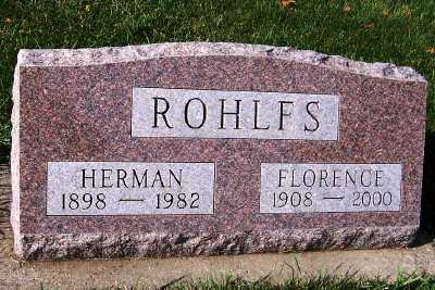 ROHLFS, HERMAN - Sioux County, Iowa | HERMAN ROHLFS