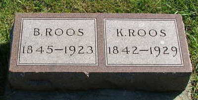 ROOS, K. - Sioux County, Iowa | K. ROOS