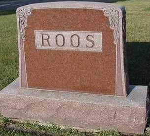 ROOS, HEADSTONE - Sioux County, Iowa | HEADSTONE ROOS