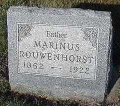 ROUWENHORST, MARINUS - Sioux County, Iowa | MARINUS ROUWENHORST