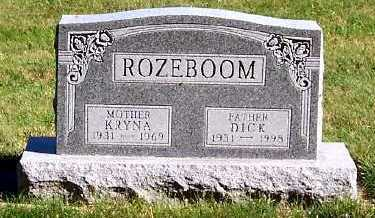 ROZEBOOM, DICK - Sioux County, Iowa | DICK ROZEBOOM