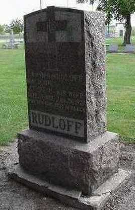 RUDLOFF, ETHEL C. (MRS. ERWIN) - Sioux County, Iowa | ETHEL C. (MRS. ERWIN) RUDLOFF