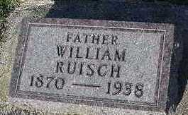 RUISCH, WILLIAM - Sioux County, Iowa | WILLIAM RUISCH