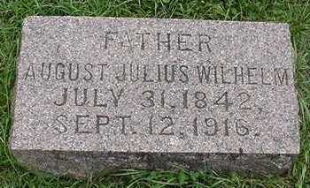 SAEGER, AUGUST JULIUS WILHELM - Sioux County, Iowa | AUGUST JULIUS WILHELM SAEGER