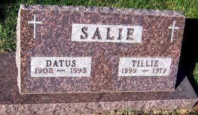 SALIE, TILLIE - Sioux County, Iowa | TILLIE SALIE