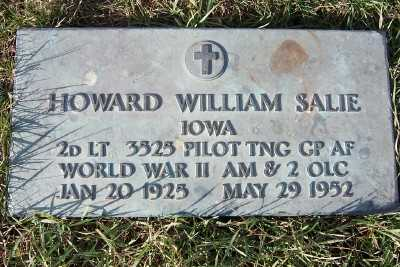 SALIE, HOWARD WILLIAM - Sioux County, Iowa | HOWARD WILLIAM SALIE