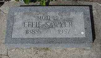SAWYER, EFFIE - Sioux County, Iowa | EFFIE SAWYER