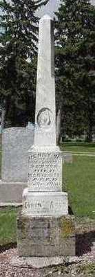 SAWYER, HENRY W. - Sioux County, Iowa | HENRY W. SAWYER