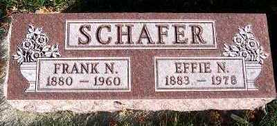 SCHAFER, FRANK N. - Sioux County, Iowa | FRANK N. SCHAFER