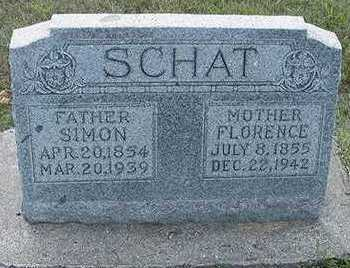 SCHAT, SIMON - Sioux County, Iowa | SIMON SCHAT
