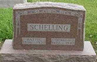 SCHELLING, CORNELIUS - Sioux County, Iowa | CORNELIUS SCHELLING