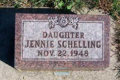 SCHELLING, JENNIE - Sioux County, Iowa | JENNIE SCHELLING