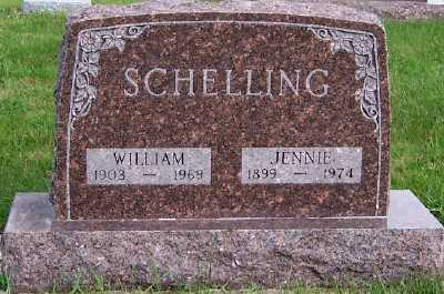 SCHELLING, JENNIE - Sioux County, Iowa | JENNIE SCHELLING