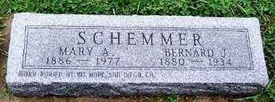 SCHEMMER, MARY A. - Sioux County, Iowa | MARY A. SCHEMMER