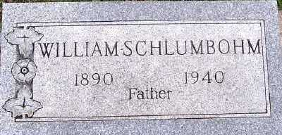 SCHLUMBOHM, WILLIAM - Sioux County, Iowa | WILLIAM SCHLUMBOHM