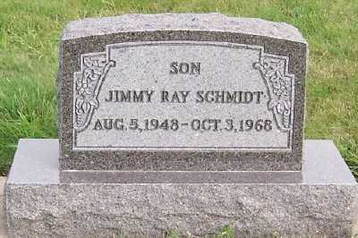 SCHMIDT, JIMMY RAY - Sioux County, Iowa | JIMMY RAY SCHMIDT