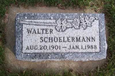 SCHOELERMANN, WALTER - Sioux County, Iowa | WALTER SCHOELERMANN