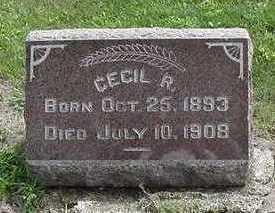 SCHOENEMAN, CECIL R. - Sioux County, Iowa | CECIL R. SCHOENEMAN