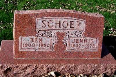 SCHOEP, JENNIE - Sioux County, Iowa | JENNIE SCHOEP