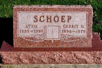 SCHOEP, GERRIT H. - Sioux County, Iowa | GERRIT H. SCHOEP