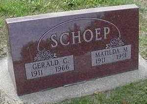 SCHOEP, MATILDA - Sioux County, Iowa | MATILDA SCHOEP