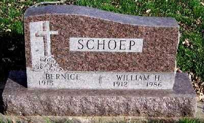 SCHOEP, WILLIAM H. - Sioux County, Iowa | WILLIAM H. SCHOEP