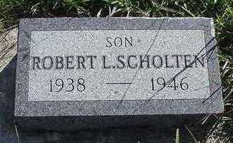 SCHOLTEN, ROBERT L. - Sioux County, Iowa | ROBERT L. SCHOLTEN