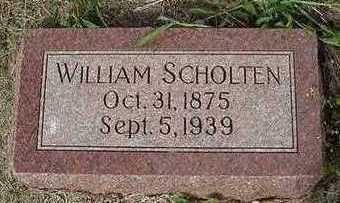 SCHOLTEN, WILLIAM  D. 1939 - Sioux County, Iowa | WILLIAM  D. 1939 SCHOLTEN