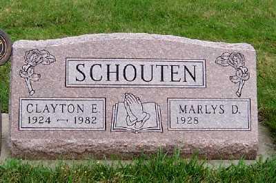 SCHOUTEN, CLAYTON - Sioux County, Iowa   CLAYTON SCHOUTEN