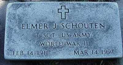 SCHOUTEN, ELMER J. - Sioux County, Iowa | ELMER J. SCHOUTEN