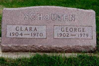 SCHOUTEN, GEORGE - Sioux County, Iowa | GEORGE SCHOUTEN