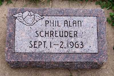 SCHREUDER, PHIL ALAN - Sioux County, Iowa | PHIL ALAN SCHREUDER