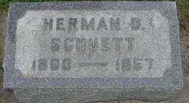 SCHUETTE, HERMAN D. - Sioux County, Iowa | HERMAN D. SCHUETTE