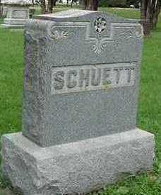 SCHUETTE, HEADSTONE - Sioux County, Iowa | HEADSTONE SCHUETTE