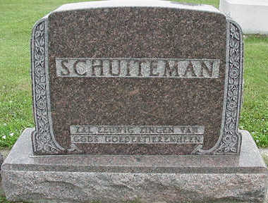 SCHUITEMAN, HEADSTONE - Sioux County, Iowa | HEADSTONE SCHUITEMAN