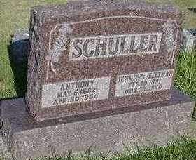 SCHULLER, ANTHONY - Sioux County, Iowa | ANTHONY SCHULLER