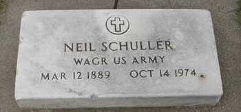 SCHULLER, NEAL - Sioux County, Iowa | NEAL SCHULLER