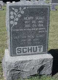 MOL SCHUT, BERTHA (MRS. HENRY) - Sioux County, Iowa | BERTHA (MRS. HENRY) MOL SCHUT