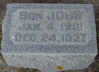 SCHUURMAN, JOHN - Sioux County, Iowa | JOHN SCHUURMAN