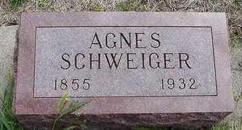 SCHWEIGER, AGNES - Sioux County, Iowa | AGNES SCHWEIGER