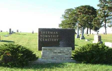 SHERMAN TOWNSHIP, CEMETERY PICTURE - Sioux County, Iowa | CEMETERY PICTURE SHERMAN TOWNSHIP
