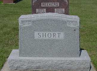 SHORT, HEADSTONE - Sioux County, Iowa | HEADSTONE SHORT