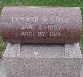SIEGE, EDWARD W. - Sioux County, Iowa | EDWARD W. SIEGE