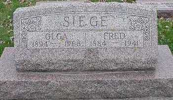 SIEGE, FRED - Sioux County, Iowa | FRED SIEGE