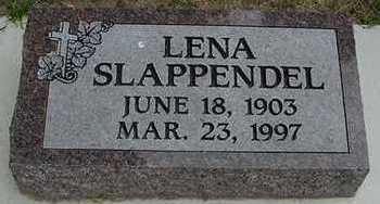 SLAPPENDEL, LENA - Sioux County, Iowa | LENA SLAPPENDEL