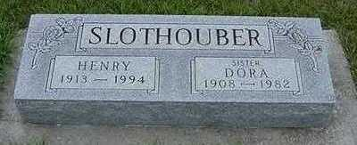 SLOTHOUBER, HENRY  D.1994 - Sioux County, Iowa | HENRY  D.1994 SLOTHOUBER