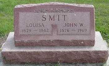 SMIT, JOHN W. - Sioux County, Iowa | JOHN W. SMIT