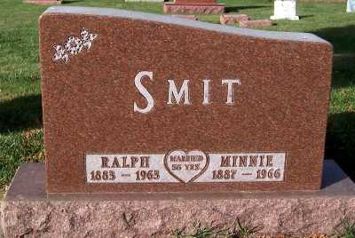 SMIT, MINNIE - Sioux County, Iowa | MINNIE SMIT